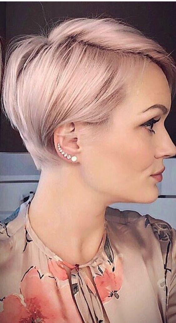 10 fabelhafte kurz geschichtete Frisuren und Haarschnitte für dickes Haar 2019: Schauen Sie rein! #shortlayeredhaircuts