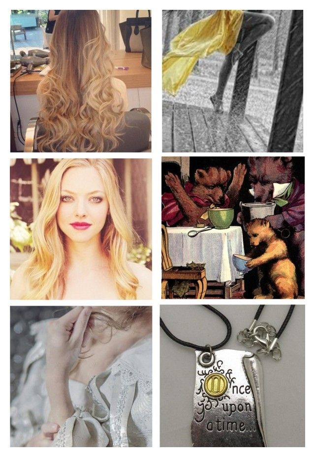 """Gabby aka Goldie Locks (requested)"" by maxinehearts ❤ liked on Polyvore featuring art"