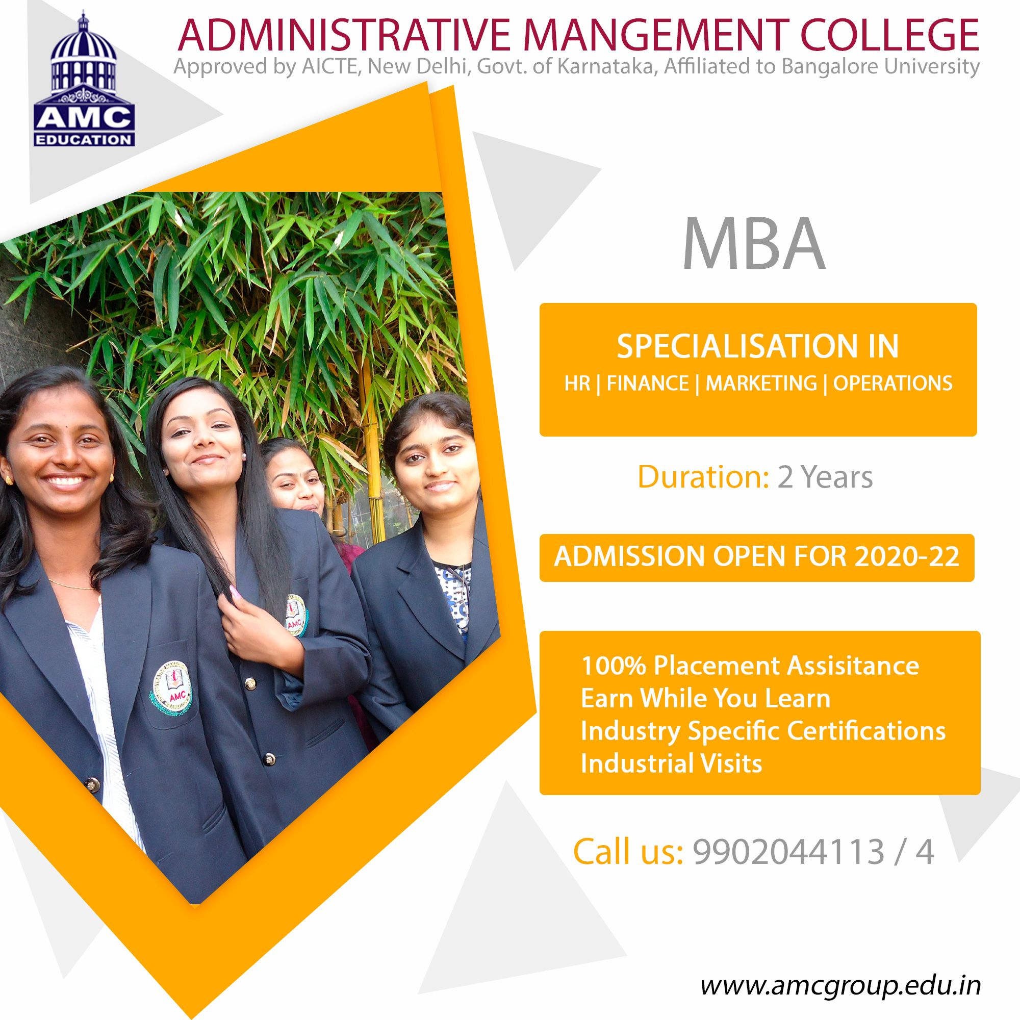 Administrative management college in 2020 administrative