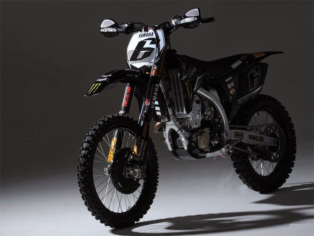 Motorcycle Black Yamaha Motocross Wallpaper