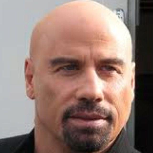 John Travolta even looks good bald!!!! | Handsome