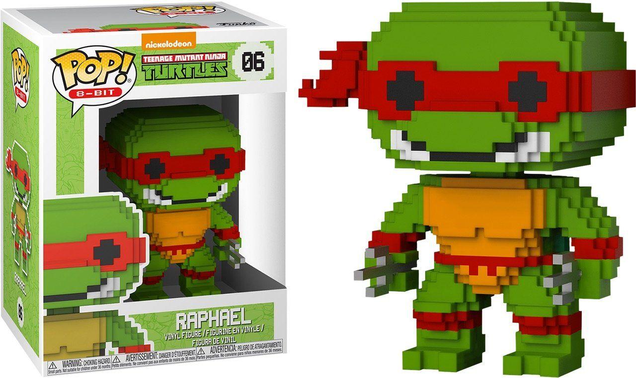 Funko Pop Figura De Vinilo 8-Bit Tmnt Raphael no 06
