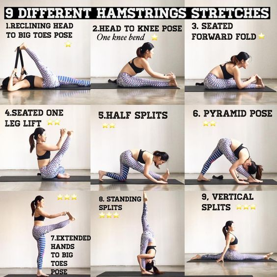Tight hamstring is a very common problem to have due to ...