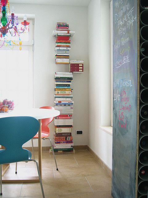Magic Bookshelf And Cute Dining Room