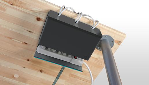 Plug Hub Desk Cable Organizer