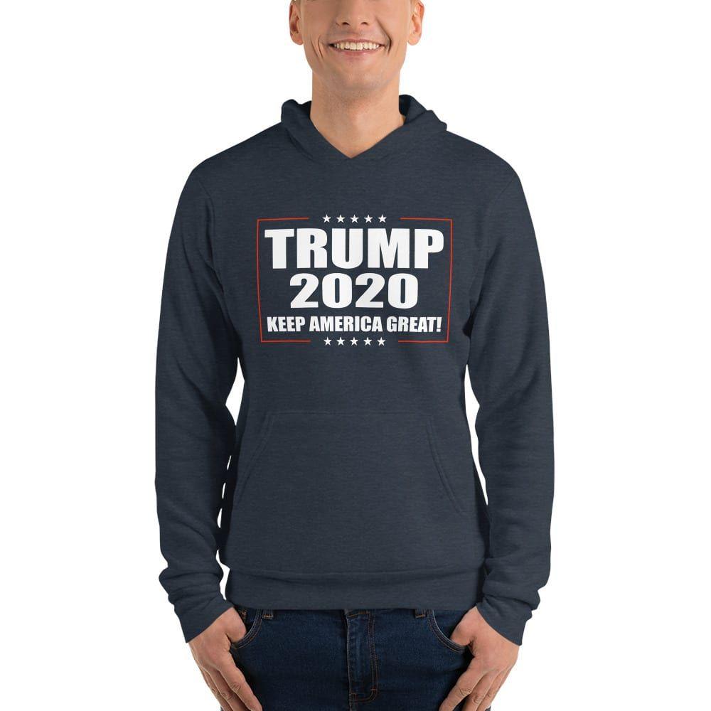 Trump 2020 Keep America Great Hoodie Black