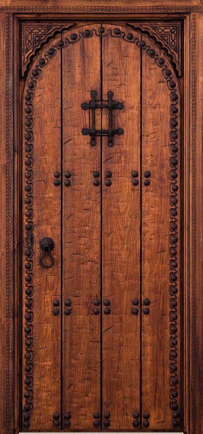 Puertas antiguas rusticas puertas de entrada for Puertas madera rusticas interior