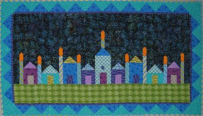 """Home for Hanukkah"" pattern by Cheryl Lynch"