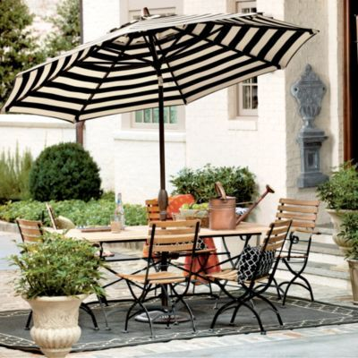 9 Auto Tilt Umbrella Home Amp Garden Patio Table