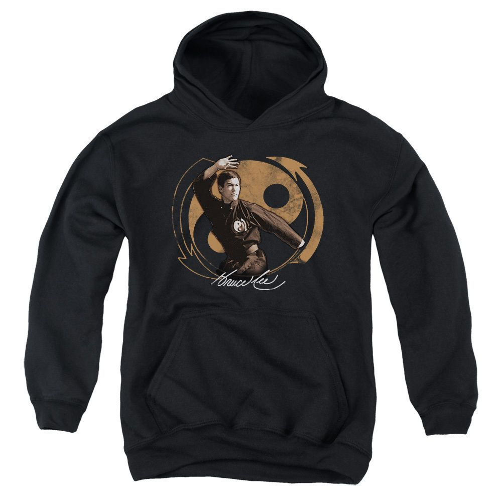 Bruce Lee/Jeet Kun Do Pose Youth Pull-Over Hoodie in, Boy's