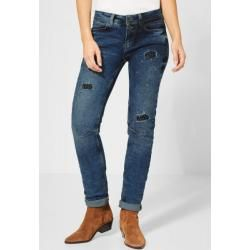 Street One – Denim Jane mit Nieten in Natural Blue Moon Wash Street OneStreet One