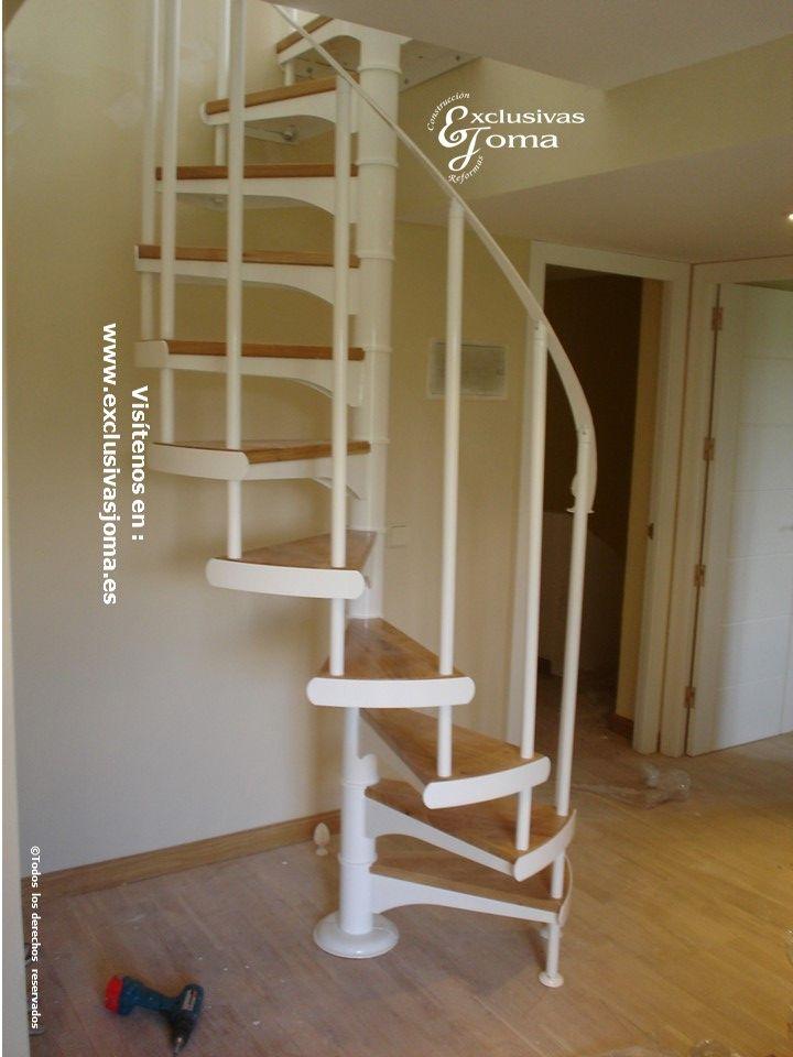 Escaleras para buhardilla amazing escalera interior a - Escalera de buhardilla ...