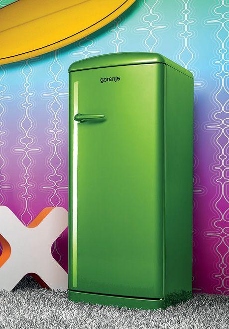 Green Refrigerator No Way Retro Refrigerator Vintage Refrigerator New Color