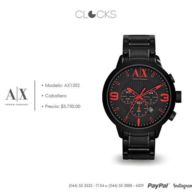 Lo nuevo de #ArmaniExchange ya está aquí y aún súper precio #SoloEnClocks  http://instagram.com/clocksrelojes https://www.facebook.com/clocksrelojes https://twitter.com/ClocksRelojes