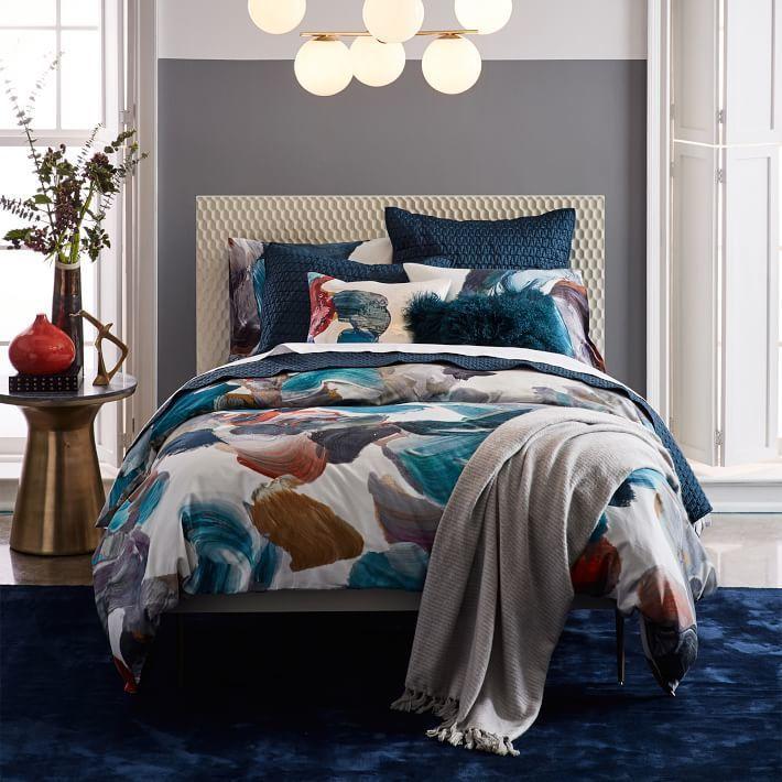 Audrey Bed | In the Bedroom | West elm headboard, Wood twin ...