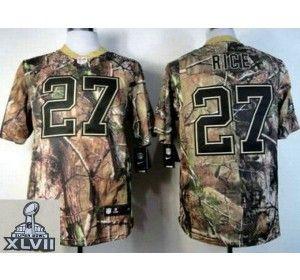 9b21020c4 ... 2013 Super Bowl XLVII NEW Baltimore ravens 27 Ray Rice Camo Realtree NFL  Jerseys(Elite Nike ...