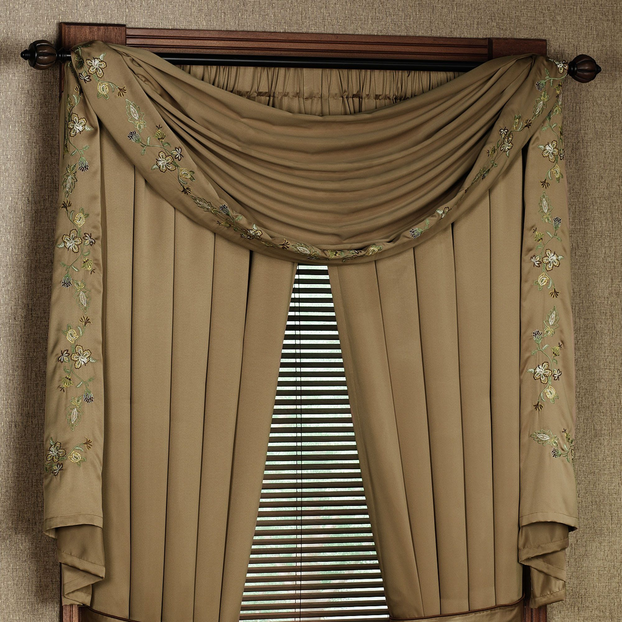 Using The Scarf Curtains Scarf Curtains Curtains Scarf Valance