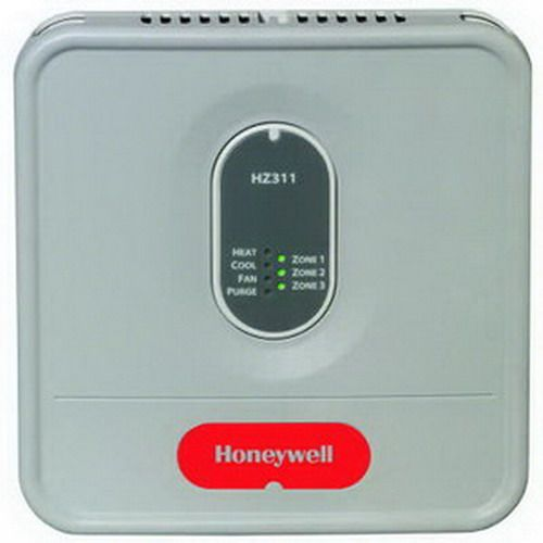 Honeywell HZ311 TrueZONE Zoning Control Panel For Up To 3