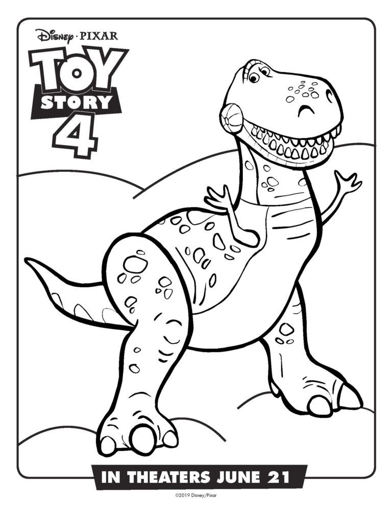 Free Printable Toy Story 4 Coloring Pages And Activity Sheets Toy Story Coloring Pages Dinosaur Coloring Pages Disney Coloring Pages