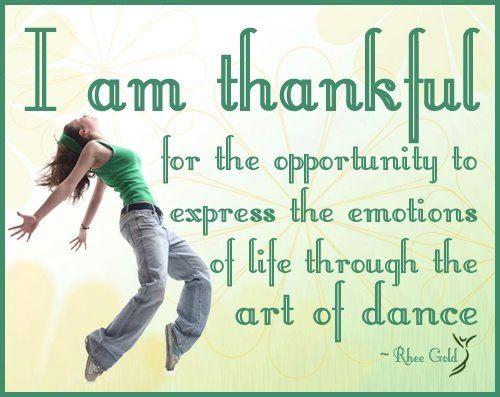I live dance!