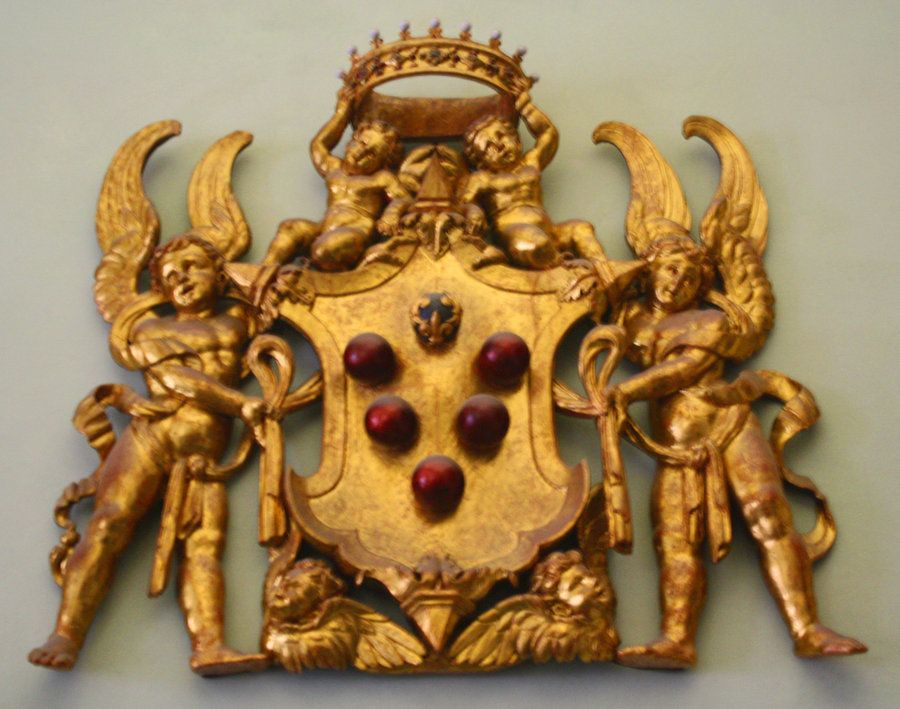 This Is The Medici Family Coat Of Arms Taken In The Uffizi Gallery