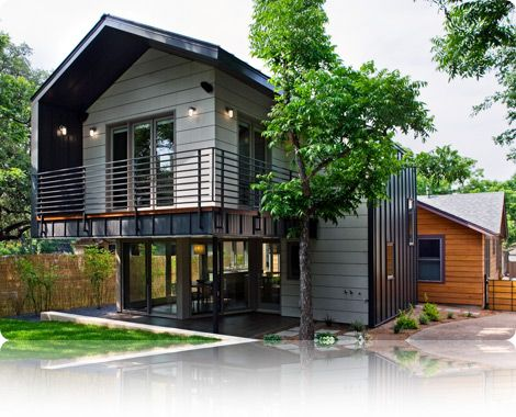 Classic Yet Modern Metal Construction House In Texas