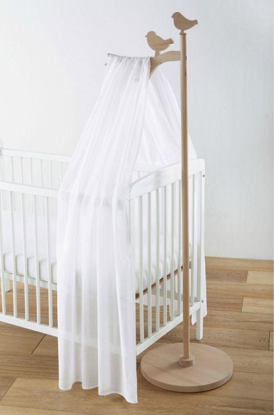Comfort Baby Dosel/dosel Para La Cama Esquinas Color Blanco Altura Aprox 70
