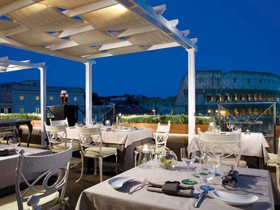 Aroma Roof Dining View Hotel rooftop bar, Rooftop