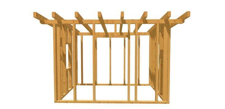 Gartenhaus Holz holzbauplan.de in 2020 (mit Bildern