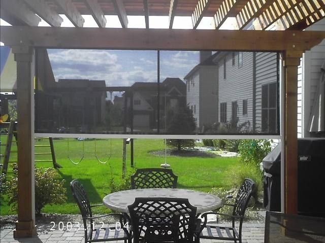 Retractable Sun Screen My Next Project Deck With