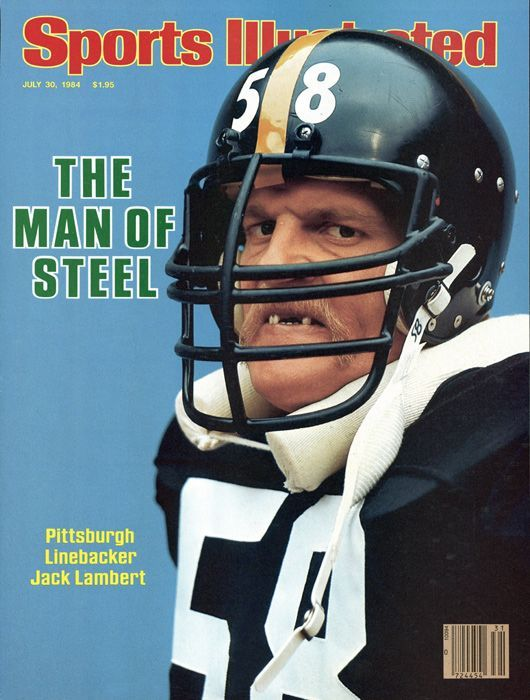 Five million teeth are knocked out in sports-related injuries every year in  the U.S. Jack Lambert 2c4f80284