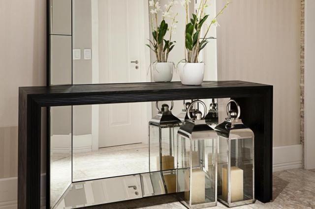 Amplitud decoracion recibidores espejos muebles for Decoracion espejos entrada casa