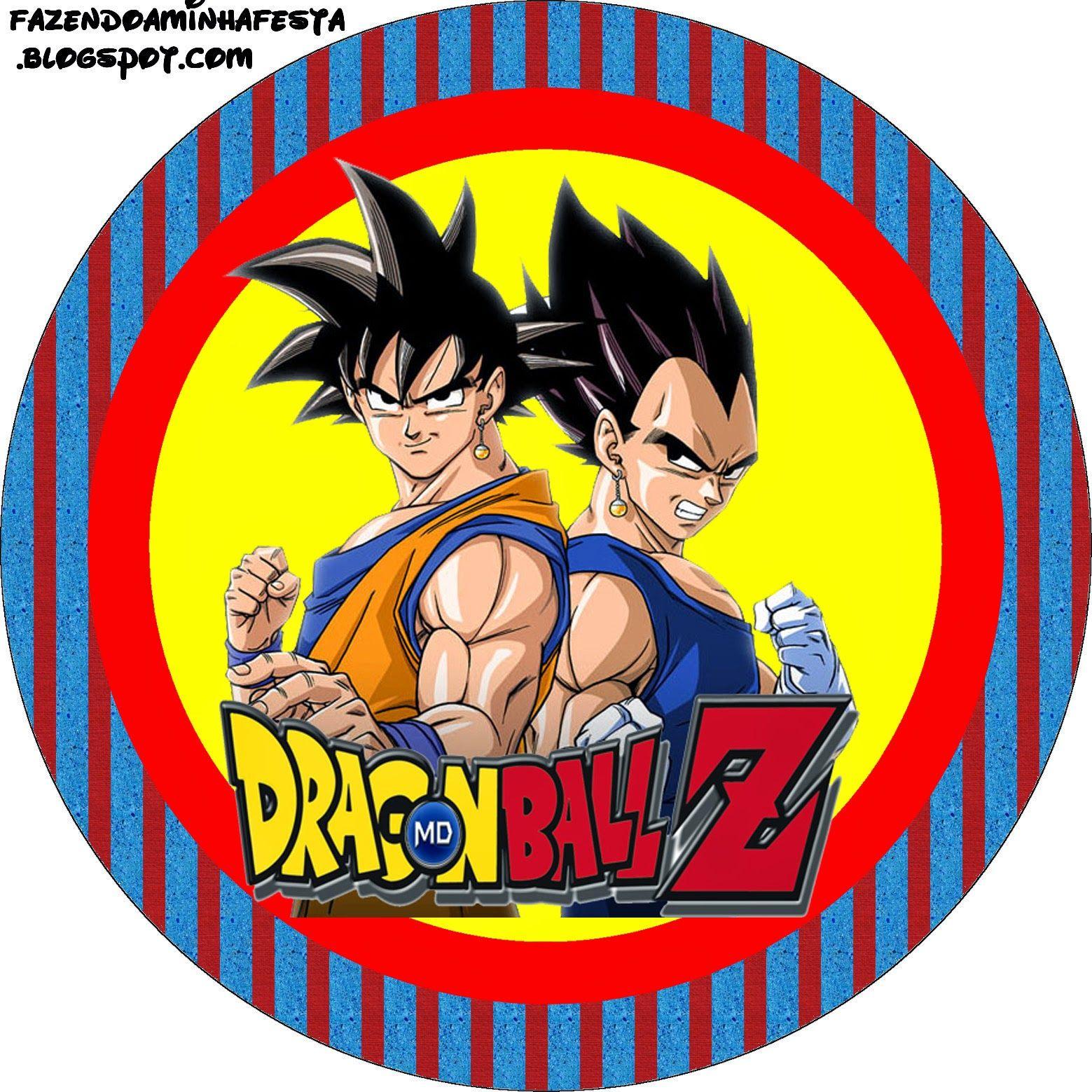 Dragon Ball Z Etiquetas Para Candy Bar Para Imprimir Gratis