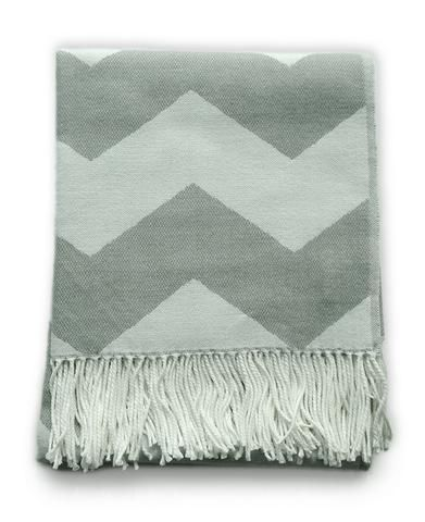 Superb Throw Blanket Grey And White Chevron Zig Zag Pattern Pdpeps Interior Chair Design Pdpepsorg