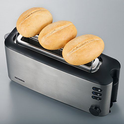 Severin At 2515 Automatik Langschlitztoaster Ca Toaster Hot Dog Buns Kitchen Appliances