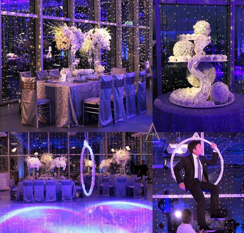 winter wonderland table decorations winter wonderland. Black Bedroom Furniture Sets. Home Design Ideas