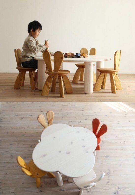 Kids Bedroom Funny Furniture By Hiromatsu Furniture Fixture And - Ecological-furniture-for-kids-bedroom-by-hiromatsu
