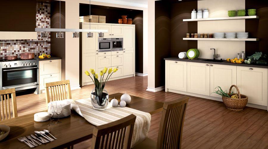 Küche im Landhausstil. www.foerde-kuechen.de #kuechen #FoerdeKuechen ...