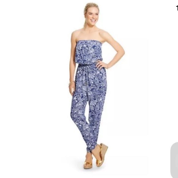 Lilly for target jumpsuit XL Lilly for target jumpsuit size XL- never worn Lilly Pulitzer for Target Other