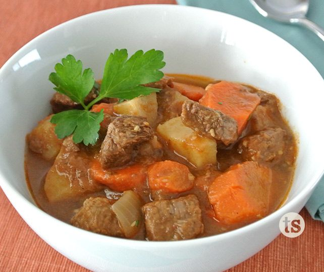 Leave the chill behind, and cozy up with a warm bowl of stew. www.TastefullySimple.com/web/ssauppee