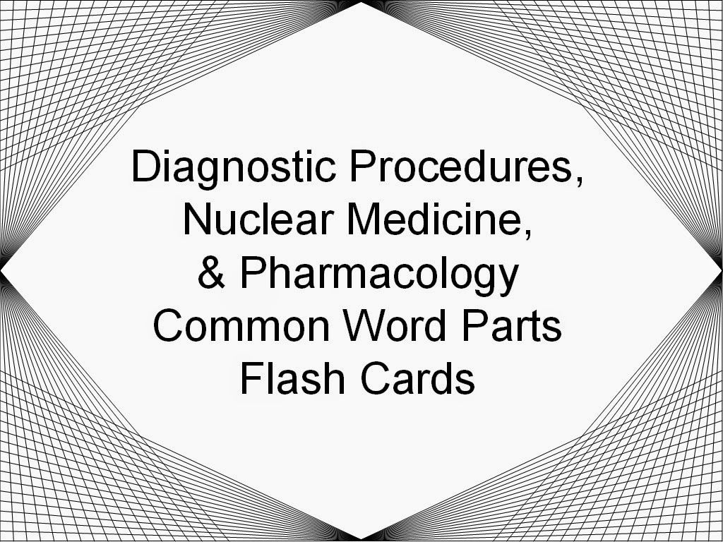 Diagnostic Procedures, Nuclear Medicine & Pharmacology
