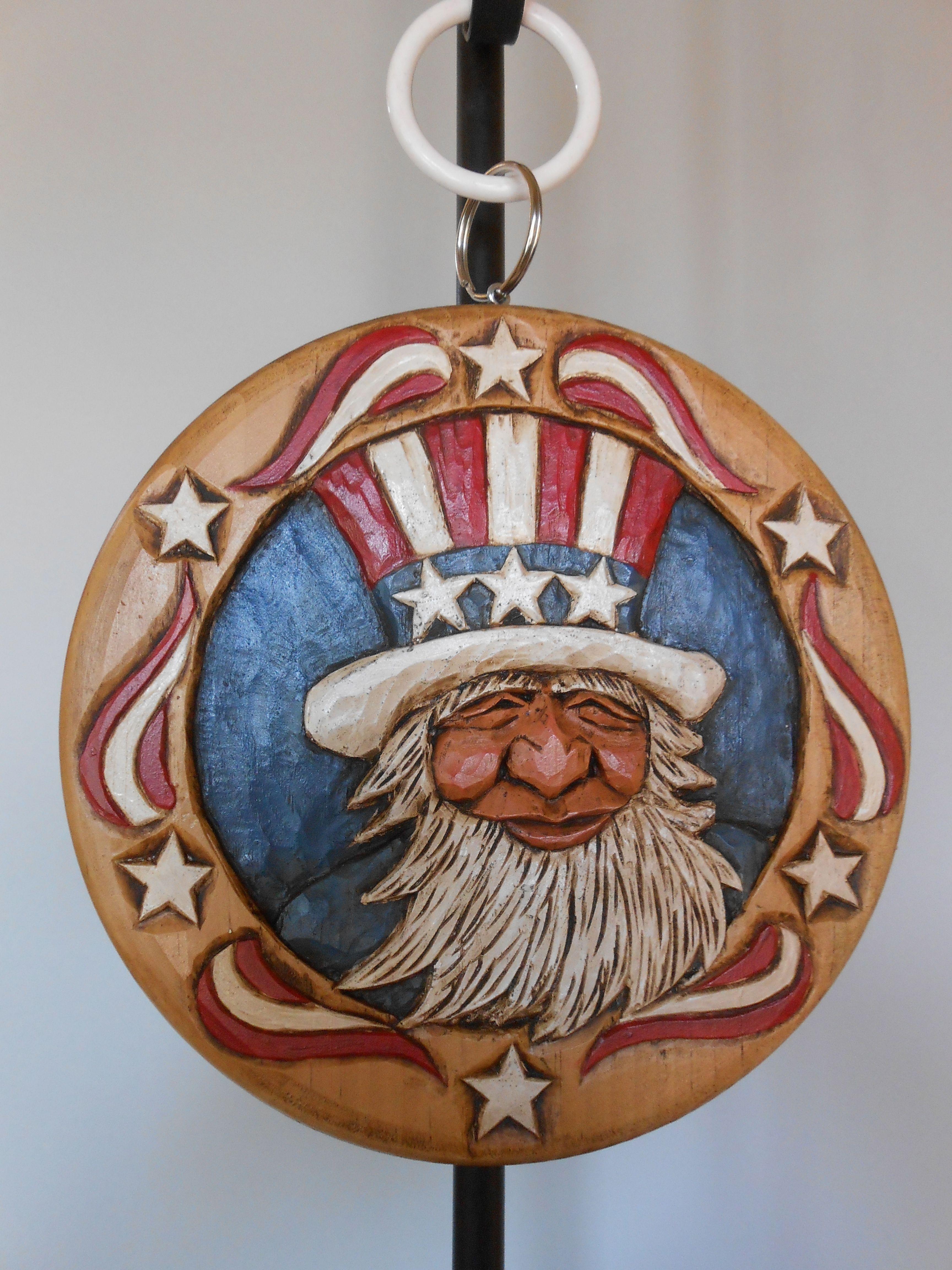 KATHY RAVENBERG Patriotic Carving Gourds crafts, Carving