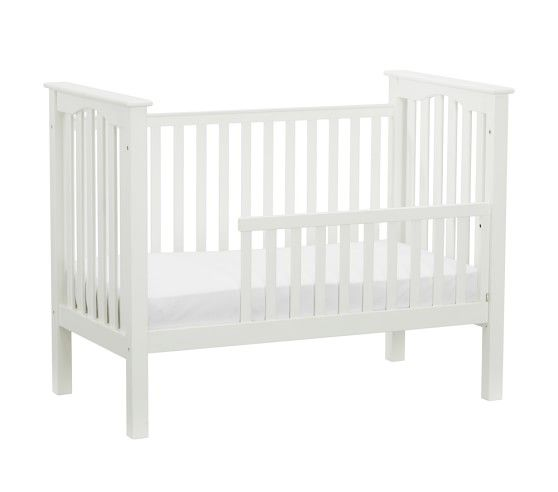Kendall Crib Guardrail Conversion Kit Simply White At