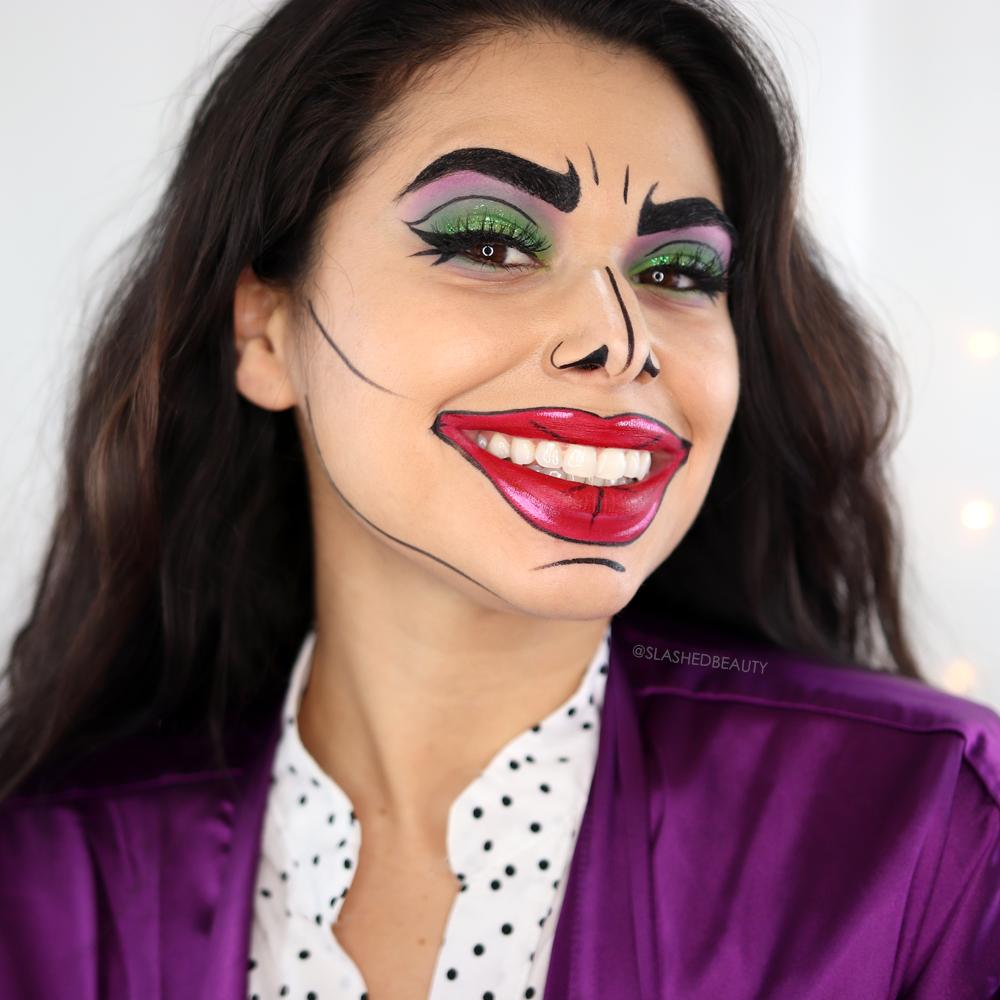 Comic Book Joker Halloween Makeup Tutorial All Drugstore Makeup Tutorial For Halloween Halloween Makeup Tutorial Easy Zombie Makeup Tutorials Makeup Tutorial