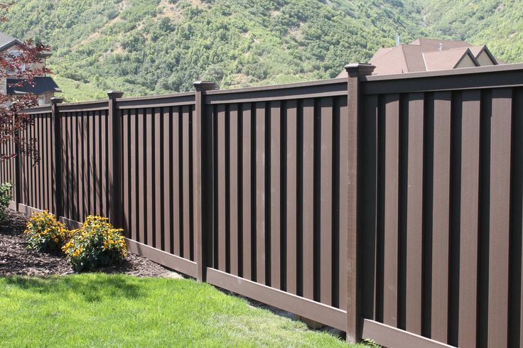 Affordable Wood Plastic Fence For Sale, Eco Friendly