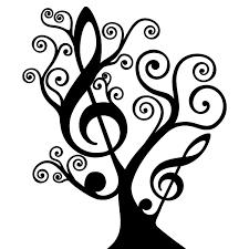 Arbol Clave De Sol Buscar Con Google Notas Musicales Dibujos