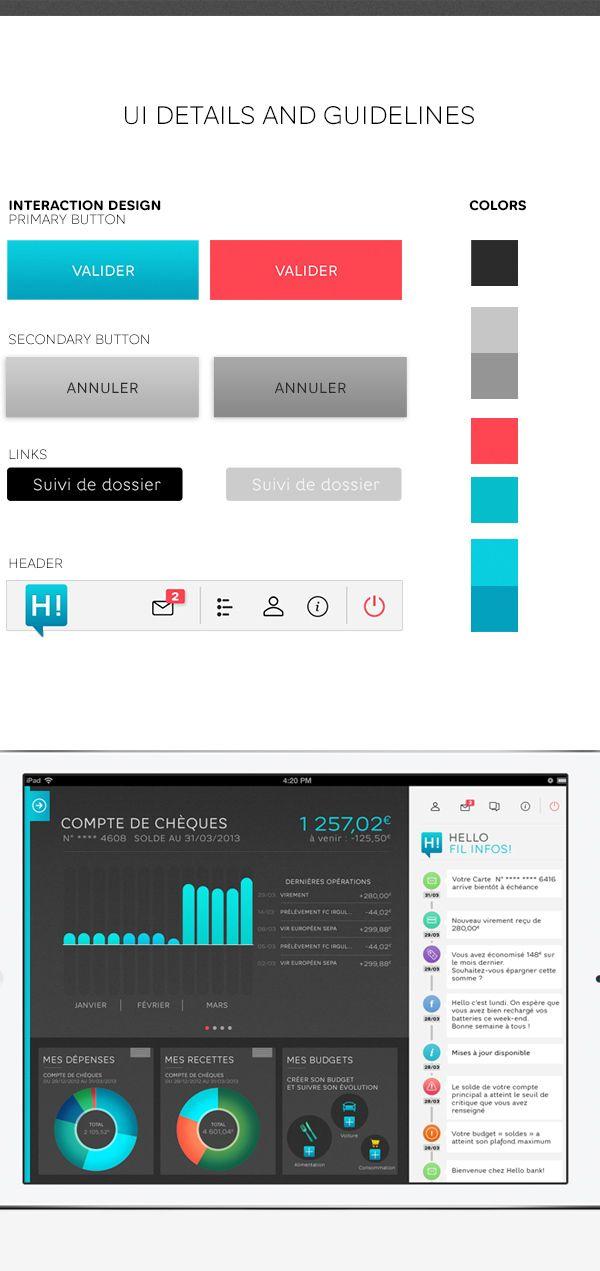 Hello Bank Iphone App By Thomas Ciszewski Via Behance Iphone Apps App Iphone