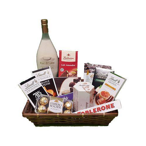 Quality Fruit Baskets Chocolade Cadeau 05 Een Mand Vol