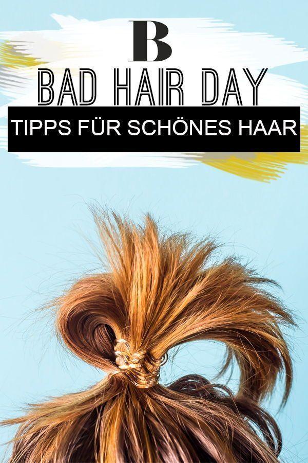 Bad Hair Day – 5 Tipps für schönes Haar. Leicht, trocken, hartnäckig: Es gibt… – Schönes Haar