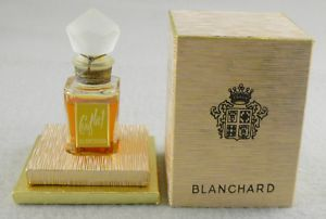 'Conflict' by Blanchard sealed perfume + box 1945 | eBay